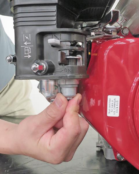 GX390(MEGA) - User Maintenance | Honda